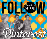 Follow Studio9:05 On Pinterest