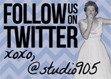 Follow Studio9:05 on Twitter!